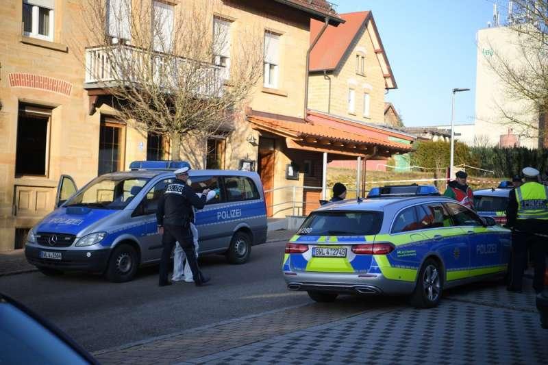 德國南部濱湖羅特鎮(Rot am See)的旅館24日驚傳槍擊案,釀6人死亡、2人重傷。(AP)