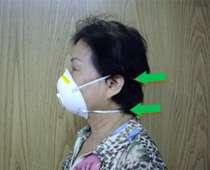 N95口罩正確戴法(圖片來源:台大醫院健康電子報)