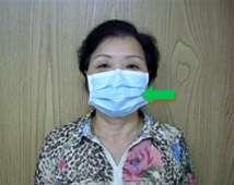 外科口罩正確戴法(圖片來源:台大醫院健康電子報)