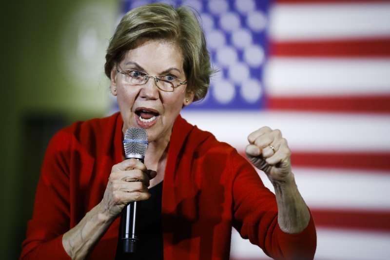 民主黨總統參選人華倫。(AP)