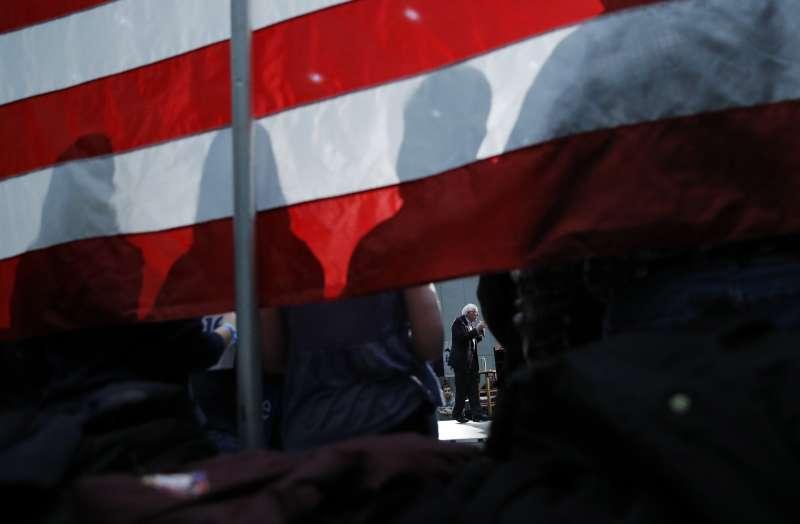 2020美國總統大選,民主黨共有4名參選人準備角逐對抗總統川普的競選資格。(AP)