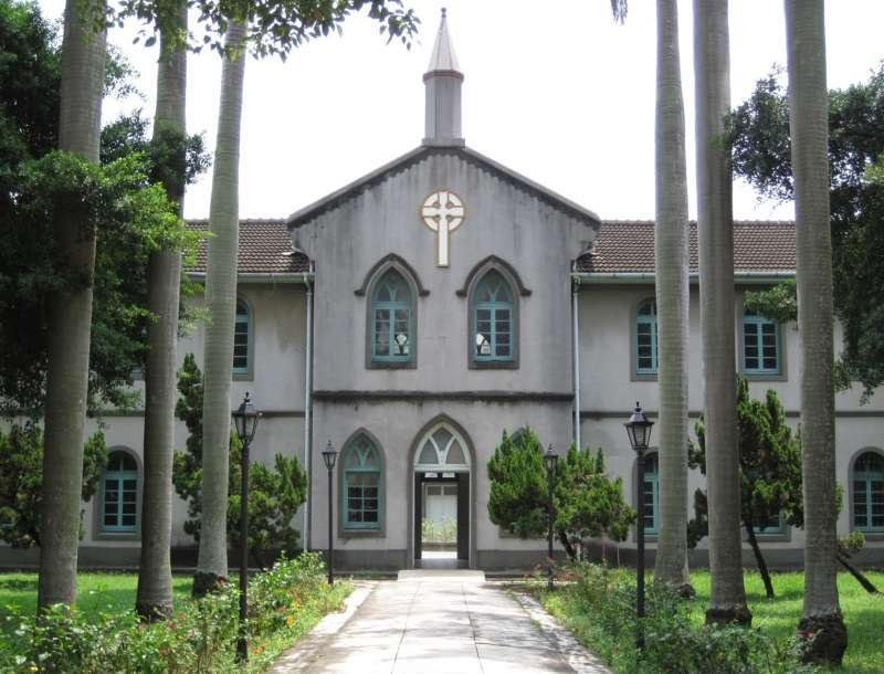 20200131-日治時期所建的「台南神學校本館」,1948年更改校名為台南神學院。(資料照,取自維基百科)