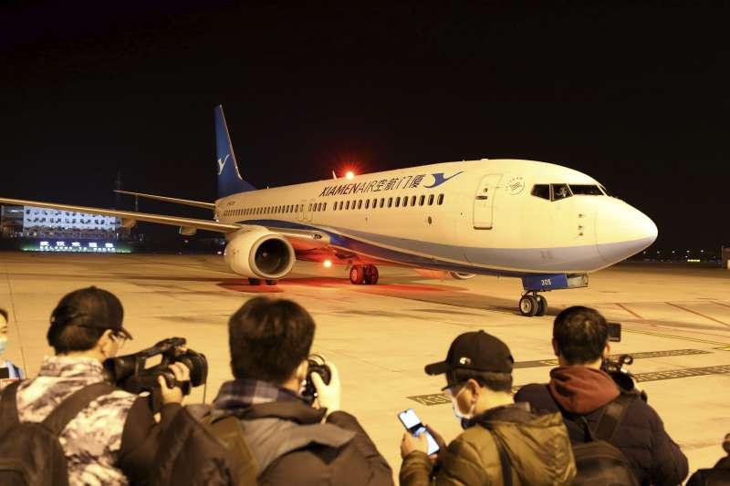 2020年1月,武漢肺炎疫情讓許多國家對中國旅客關上大門(AP)