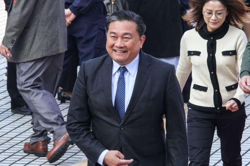 20200201-新任立委王定宇出席109年立委就職。(蔡親傑攝)
