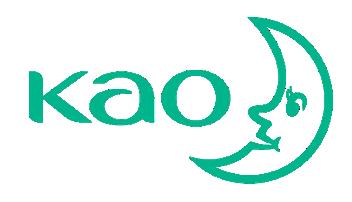 販售清潔劑的「日商花王」,以「KAO字樣及月亮」為商標(圖片來源:日商花王官網)