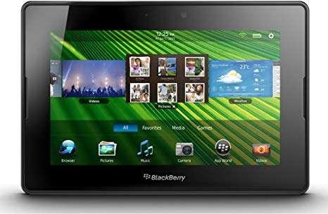 圖為2010年推出的平板電腦BlackBerry PlayBook。(圖/ amazon)