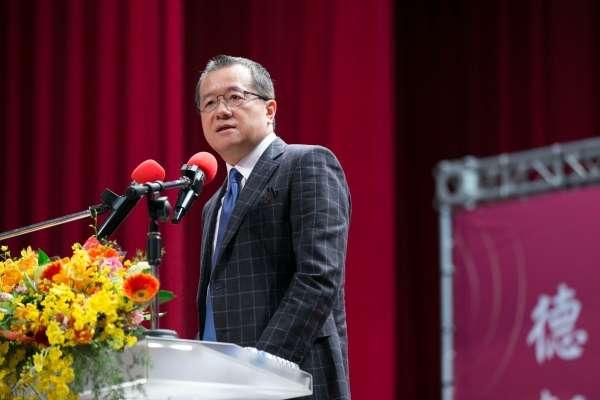 20200204-中天電視董事長兼總經理潘祖蔭(見圖)請辭,將在2月底卸任,恐增添今年中天電視換照變數。(取自世新大學網站)