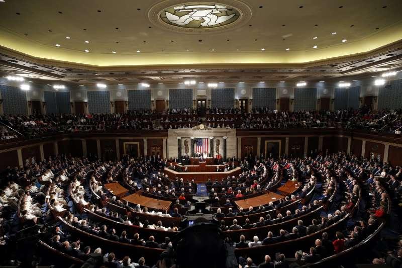 2020年2月4日,美國總統川普發表國情咨文演說(AP)