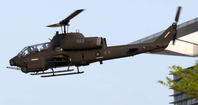 20200207-「響尾蛇」飛彈之於我空軍有相當豐富的使用經歷,先後引進多種不同的次型號,不過實際上我陸軍航空部隊同樣也有運用經驗,像是AH-1W及AH-64E兩款攻擊直升機都具有掛載「響尾蛇」飛彈的能力,型號為AIM-9S。(蘇仲泓攝)