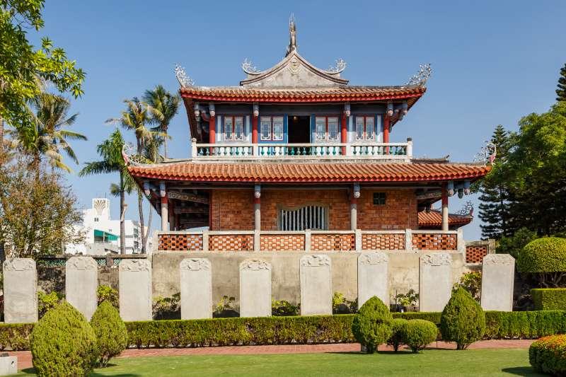 20200207-台南赤崁樓。(資料照,取自維基百科)