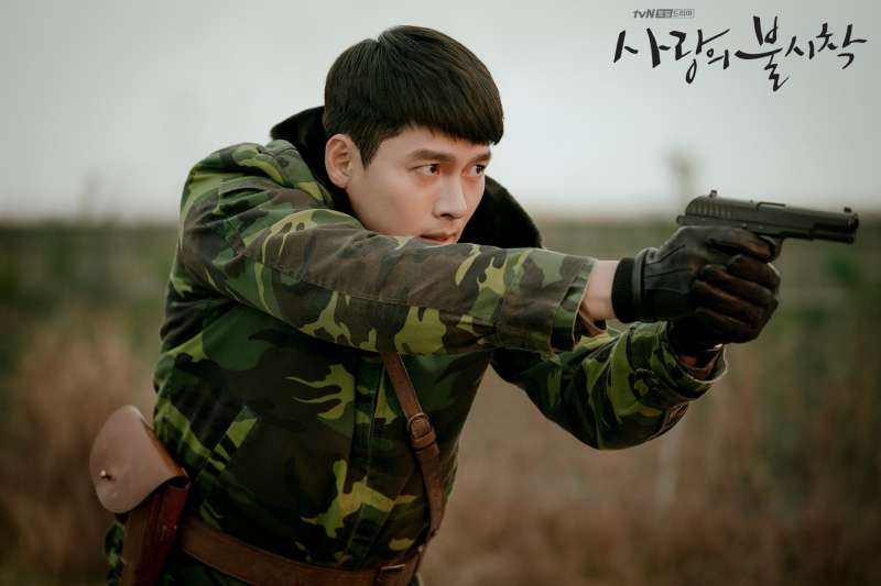 《愛的迫降》劇照。(圖/tvN 드라마Drama)