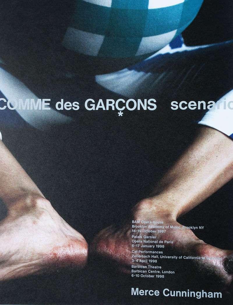 CDG 與即興舞蹈合作的海報 。圖/想想論壇