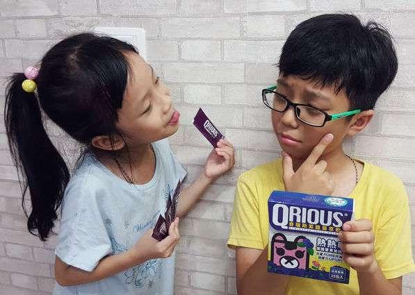 紫錐菊萃飲無人工香料色素,口感天然深受兒童喜愛。(圖/奇瑞斯兒童保健提供)