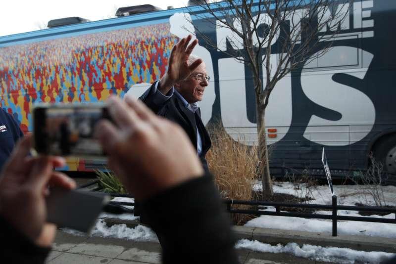 美國2020總統大選:參選人桑德斯爭取民主黨提名(AP)