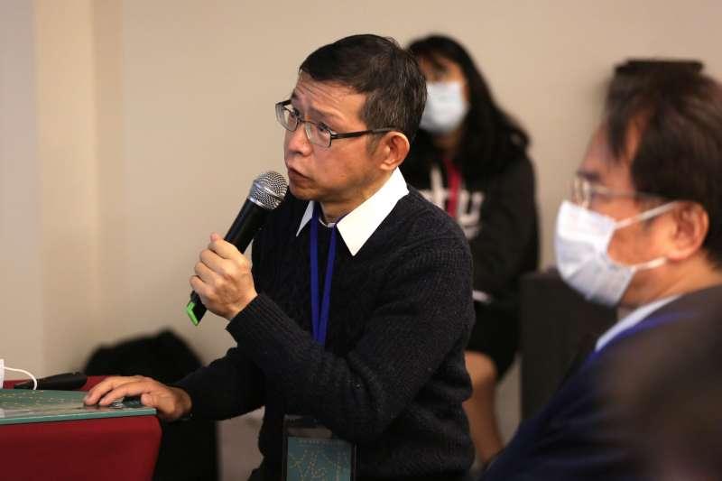 20200208-政大台史所碩士李禎祥出席人博館「獄中『再叛亂案』」研討會(國家人權博物館提供)