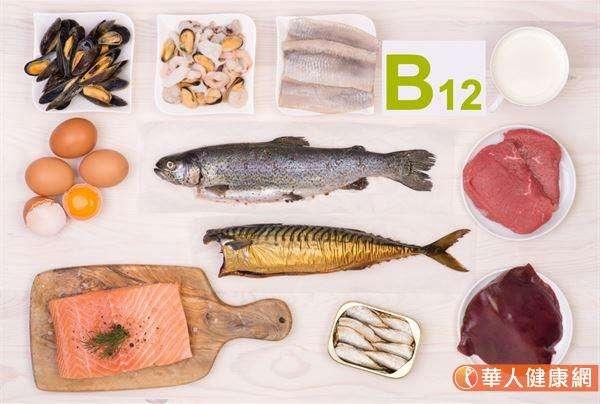 由於維生素B群中的維生素B12多集中於雞蛋、牛奶、肉類中,故部分純素食者若未加以留意、補充,經常會有維生素B12缺乏的問題,因此針對上述群族建議可適度補充。(圖/華人健康網)