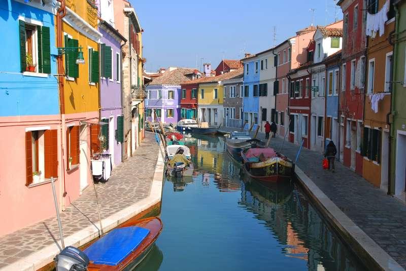 威尼斯的穆拉諾島(Murano Island)(取自pixabay)