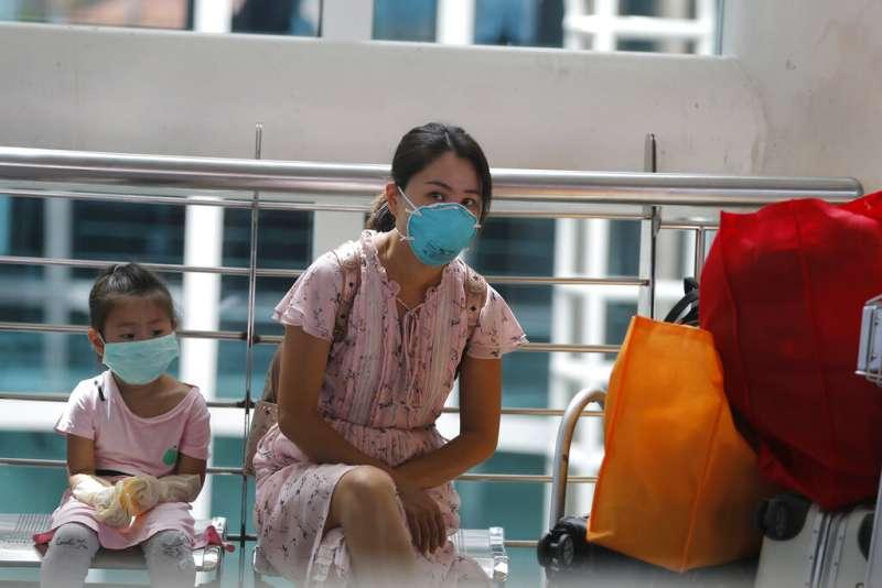 新型冠狀病毒、武漢肺炎、印尼境內的中國旅客。(AP)