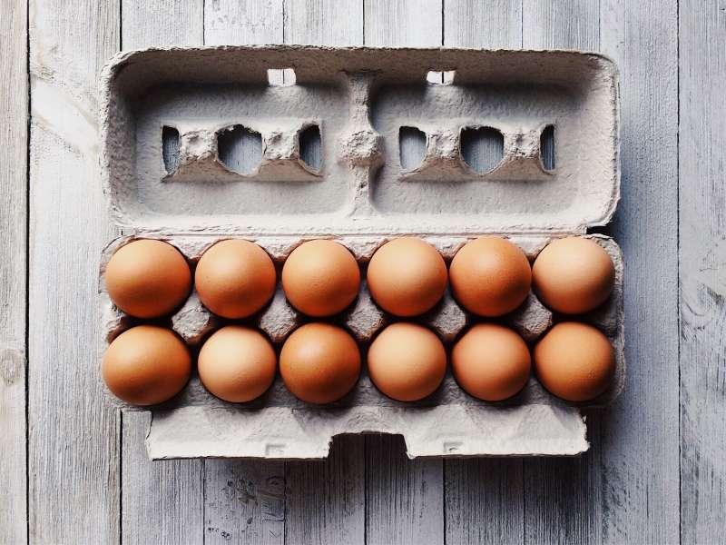 雞,雞蛋。(取自pixabay)