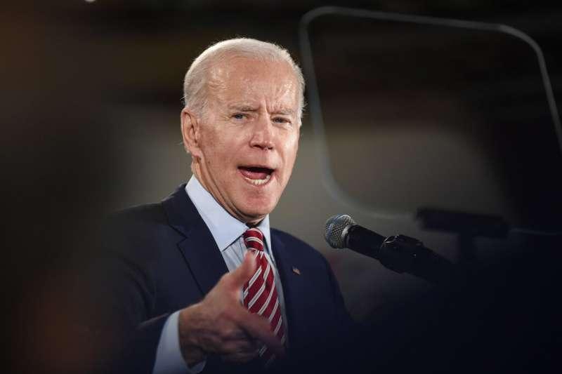 美國2020總統大選、新罕布夏州總統初選12日揭曉,美國前副總統拜登落於人後,得票率不足10%。(AP)