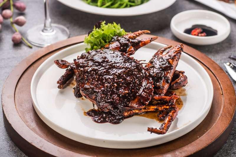 圖為莆田招牌菜「黑椒螃蟹」(圖/風傳媒)