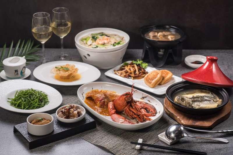 情人節套餐包含辣椒龍蝦的八道經典料理加雙份單杯白酒,僅2,020元,CP值相當高。 (圖/風傳媒)