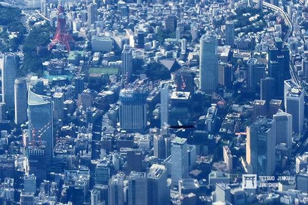 過去極少有客機出現在東京上空,是因為橫田空域的限制。圖/想想論壇