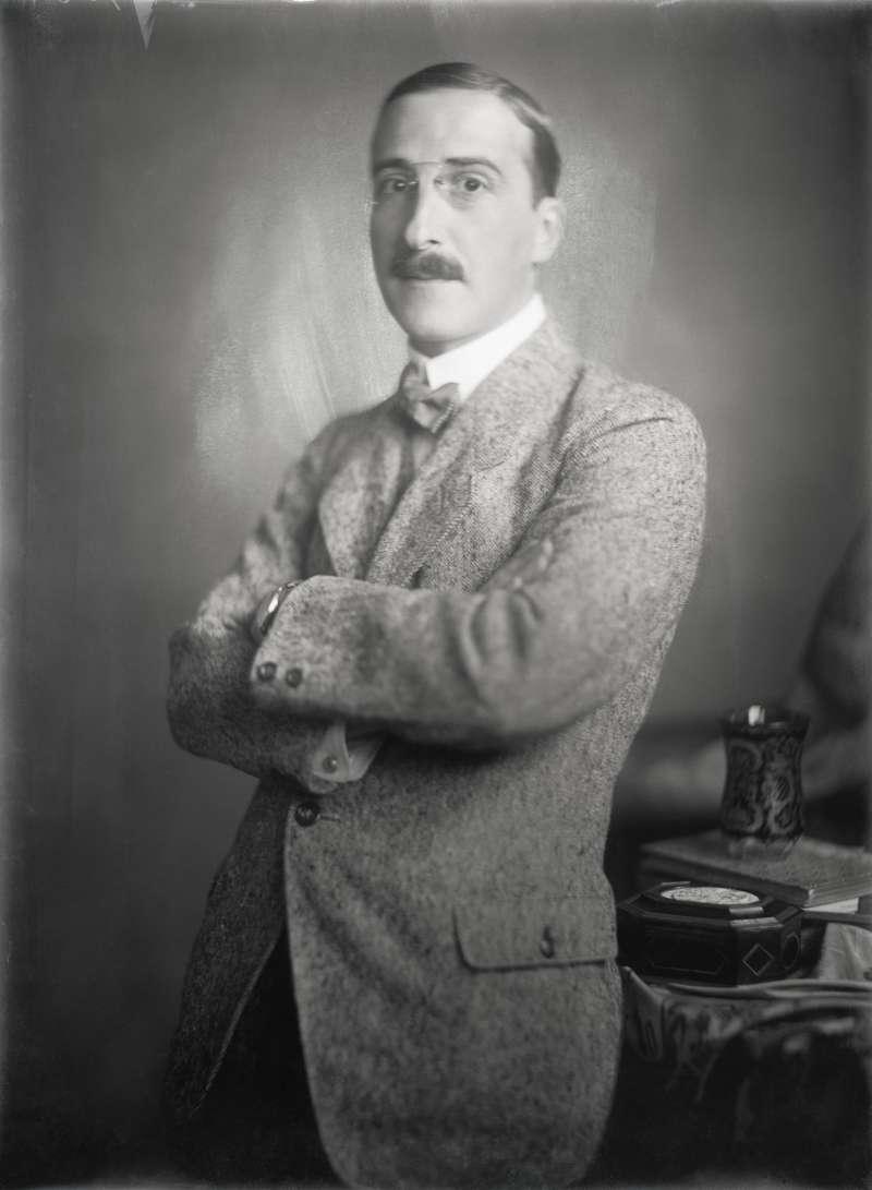 作家、和平主義者,史蒂芬.茨威格(Stefan Zweig)(圖/Muzik)