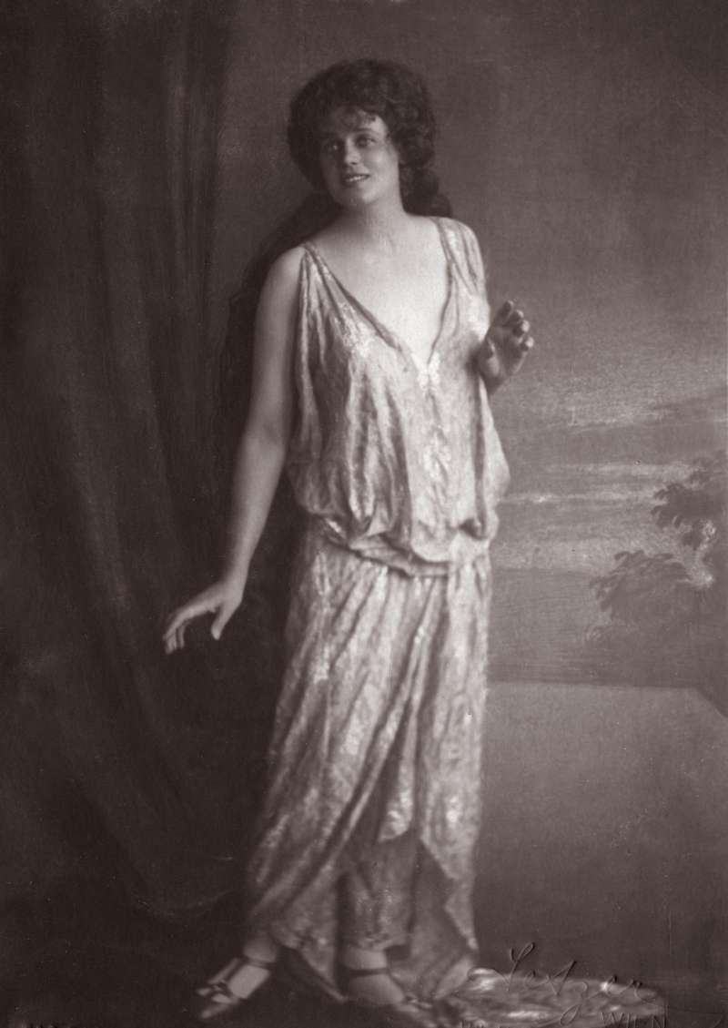 來自摩拉維亞(Moravian)的傳奇女高音耶里札(Maria Jeritza)(圖/Muzik)