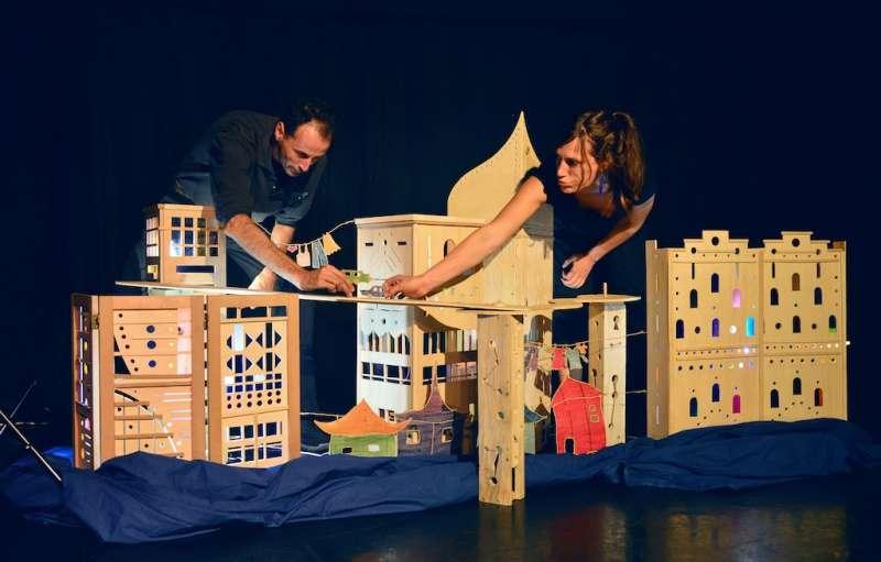 巴黎市立劇院《庫索莫與他的長冠八哥》。(圖/徐炳文攝)