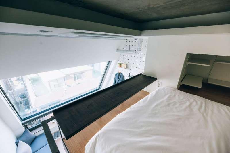 08 每個房間都有大片玻璃窗 ,享有自然光線。(圖/瘋設計)