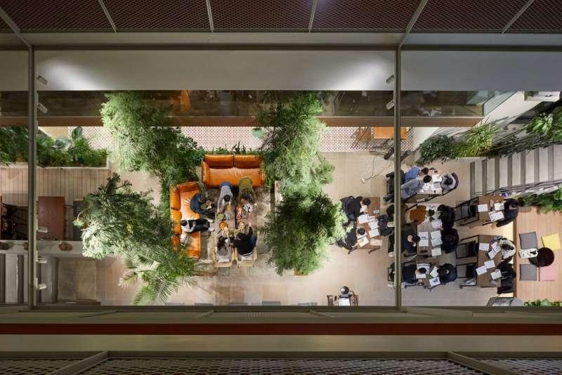 10 公共中庭是共享公寓的最重要的空間 。(圖/瘋設計)