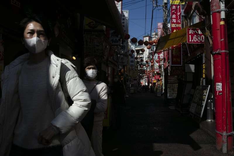 中國武漢肺炎疫情衝擊日本(AP)