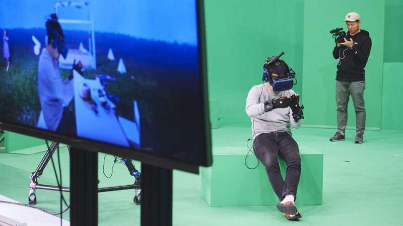 製作團隊用了八個月的時間製作了一個娜妍的三維虛擬影像,得以讓母女再「見面」。(圖/BBC News)