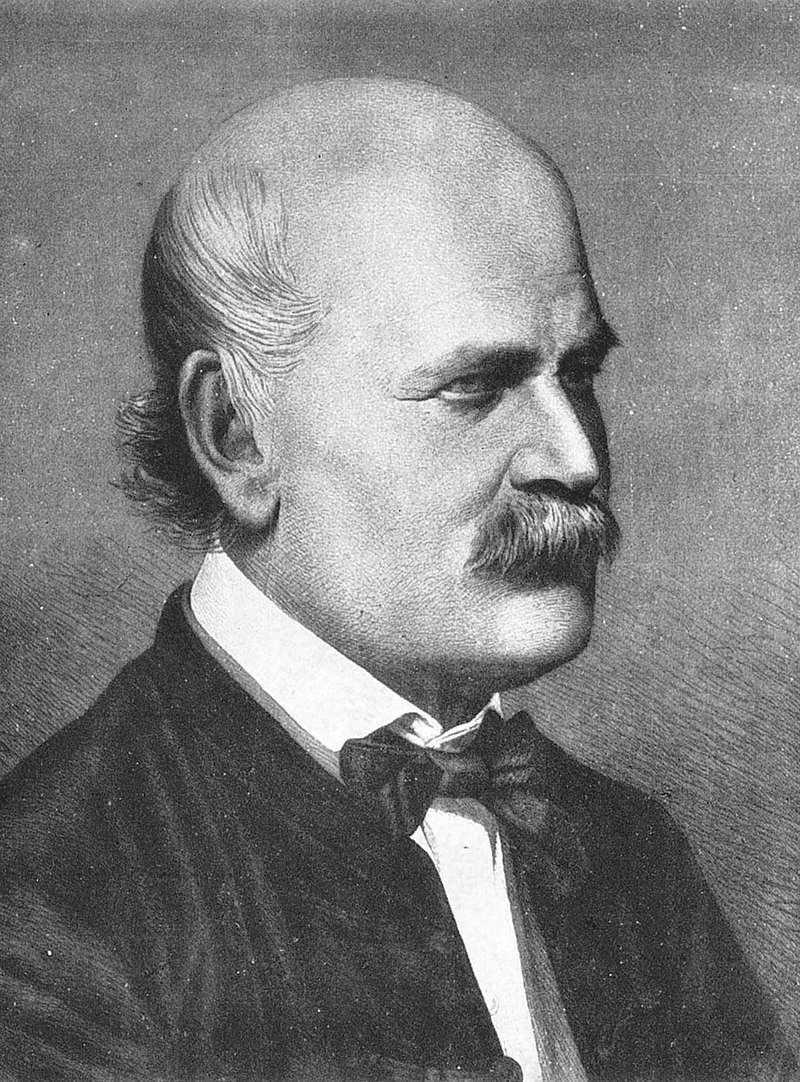 伊格納茲.塞麥爾維斯(Ignaz Semmelweis)。(取自維基百科)