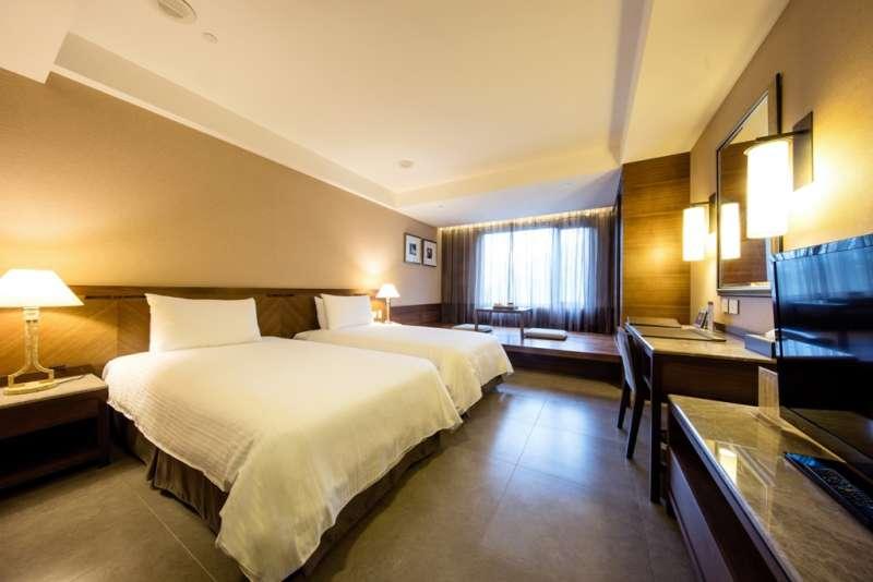 豪華雙人客房,提供賓至如歸的絕佳住宿體驗。(圖/大板根森林溫泉酒店提供)
