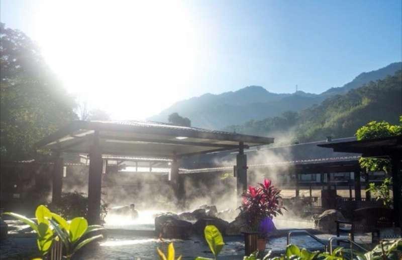 溫泉設施為賓客放鬆身心靈,掃去城市的疲憊。(圖/大板根森林溫泉酒店提供)