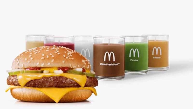 漢堡蠟燭一下就售罄,網友紛紛敲碗更多口味。(圖/Would You Magazine)