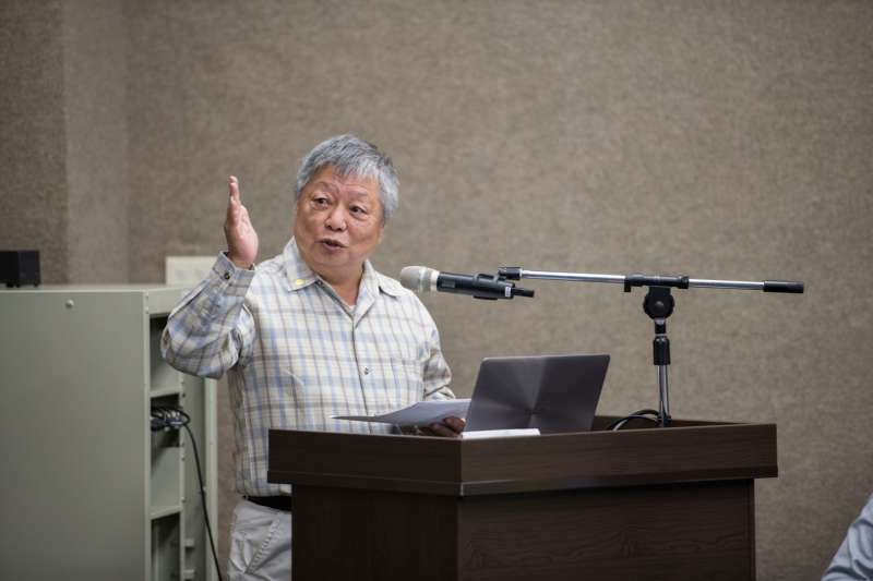20200226-促進轉型正義委員會26日正式發布籌備近2年的「台灣轉型正義資料庫」。圖為政治受難者呂昱。(黃謙賢提供)