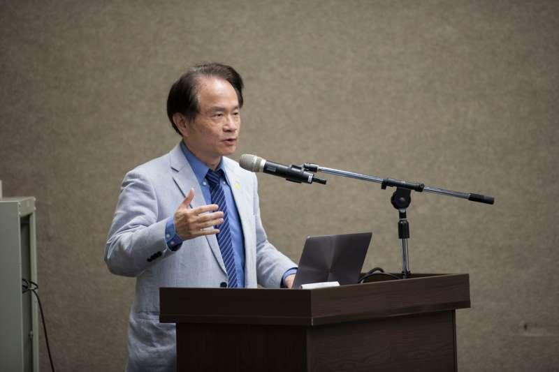 20200226-促進轉型正義委員會26日正式發布籌備近2年的「台灣轉型正義資料庫」。圖為國史館館長陳儀深。(黃謙賢提供)