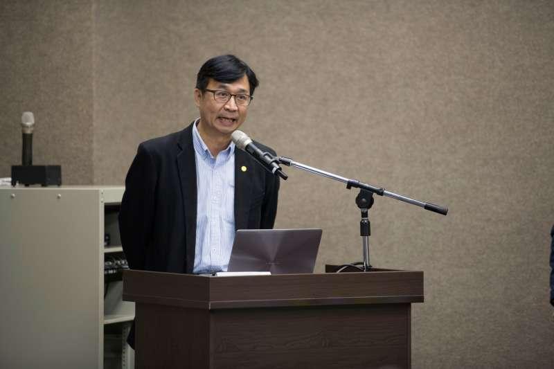 20200226-促進轉型正義委員會26日正式發布籌備近2年的「台灣轉型正義資料庫」。國家人權博物館館長陳俊宏。(黃謙賢提供)