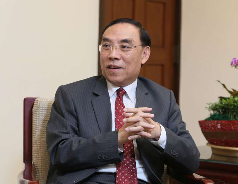 法務部長蔡清祥正式發布任內第二度檢察長人事名單,全台二十二個地檢署有十六個換老闆,是調動幅度超過七成的人事強震。(柯承惠攝)