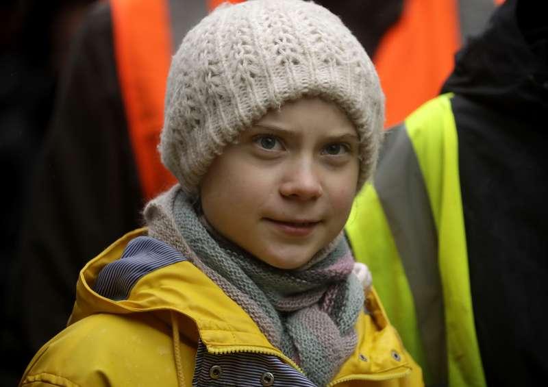 瑞典「氣候少女」通貝里(AP)