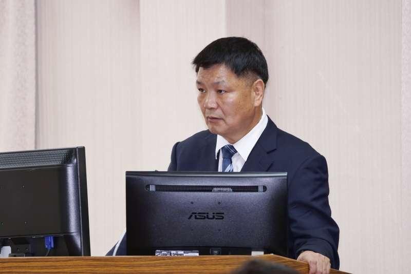 20200304-退輔會副主委李文忠4日至立法院備詢。(盧逸峰攝)