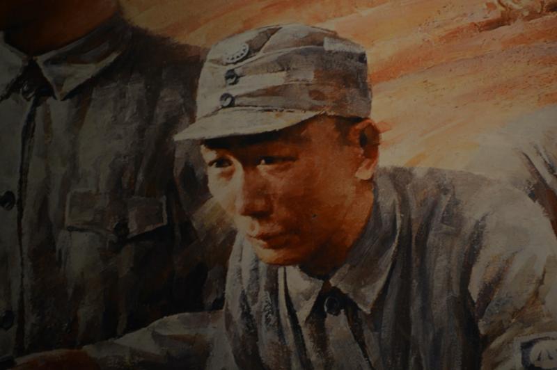 林彪曾經一身國軍打扮投入對日作戰。(許劍虹提供)