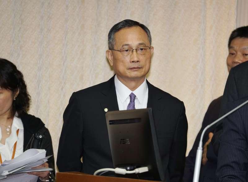 20200304-警政署長陳家欽4日出席內政委員會備詢。(盧逸峰攝)