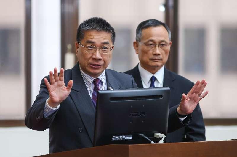 20200305-內政部長徐國勇5日於財政委員會備詢。(顏麟宇攝)