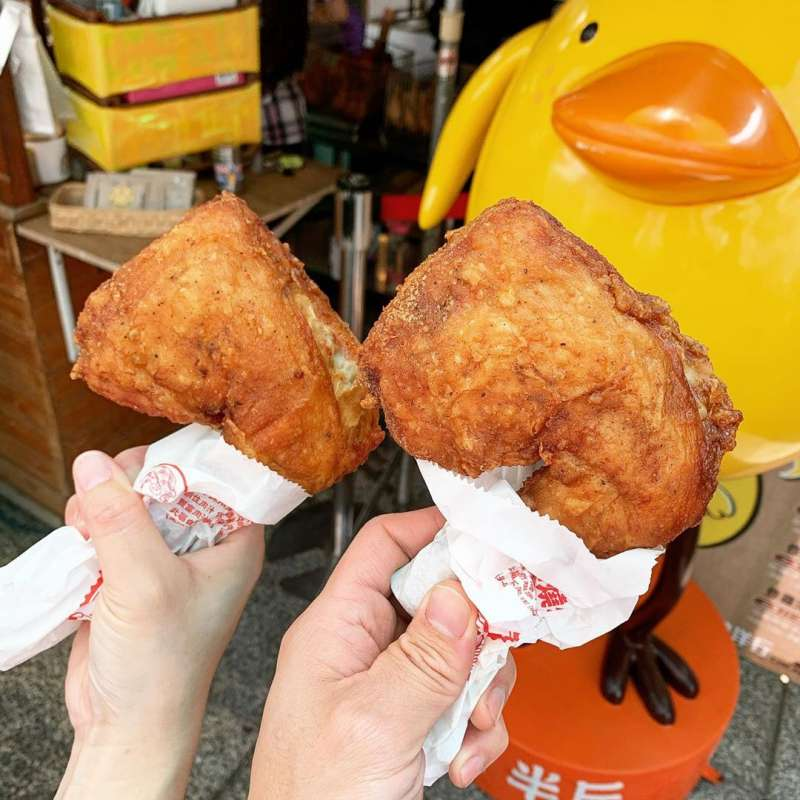 炸雞洋行,招牌八兩雞。(圖/IG@kanek1tw)