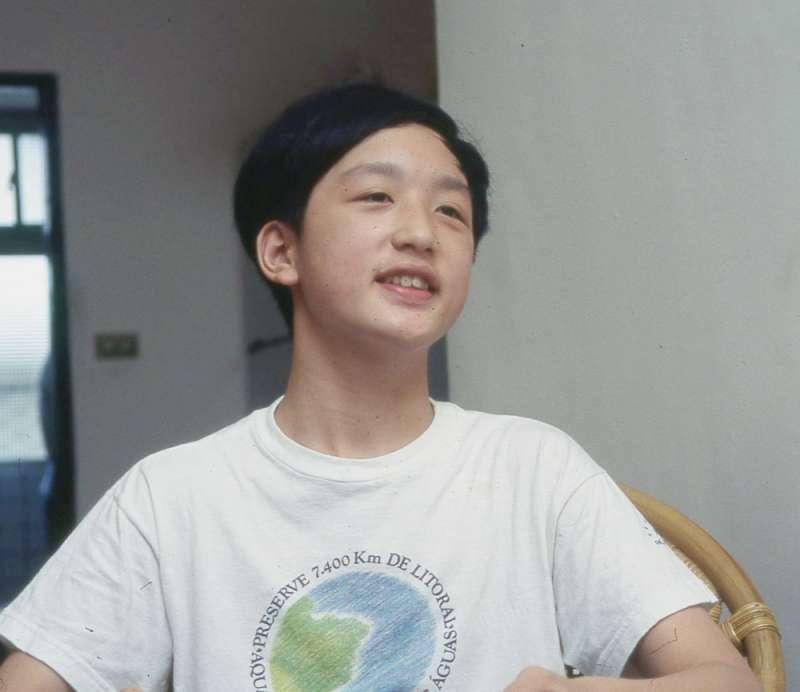 由於從小就是資優生,唐鳳在學校裡受到其他同學的欺負,小學六年,他就換了六個國小。(林瑞慶攝)