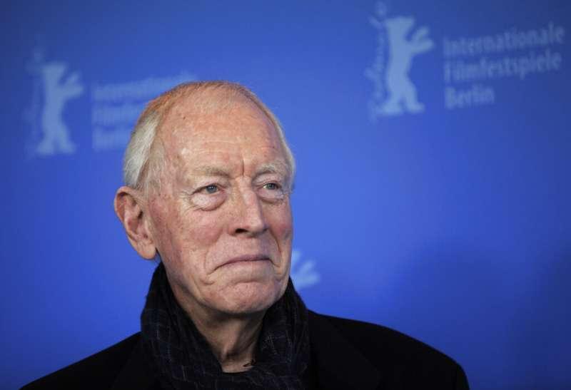 瑞典裔法國籍演員麥斯馮西度8日在法國與世長辭,享耆壽90歲。(AP)